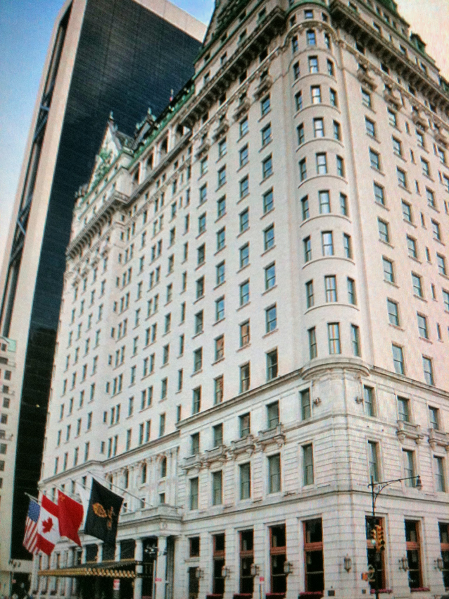 Hotel review the plaza hotel new york city hotel slippers for Plaza hotel